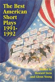 The Best American Short Plays 1991-1992 (Best American Short Plays) PDF
