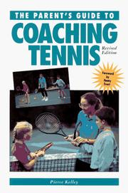 A parent's guide to coaching tennis PDF
