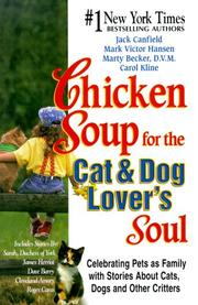 Chicken Soup for the Cat & Dog Lover's Soul PDF