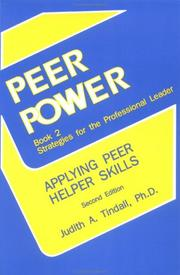 Peer power, book 2, strategies for the professional leader PDF
