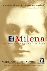 Cover of: Milena by Margarete Buber-Neumann