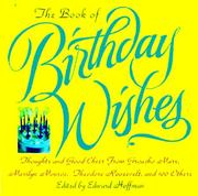 Cover of: The Book of Birthday Wishes by Edward Hoffman