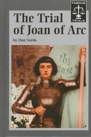 The trial of Joan of Arc by Don Nardo