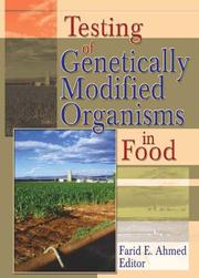 Testing of Genetically Modified Organisms in Foods PDF