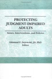 Protecting Judgment-Impaired Adults PDF