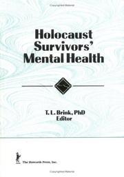 Holocaust survivors mental health