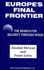 Europe&#39;s final frontier by Alasdair W. M. McLean