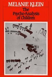 Psychoanalyse des Kindes PDF