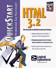 Cover of: HTML 3.2 for the Internet and Intranets Quickstart by Richard Scott, Sue Reber, Tim Poulsen, Gail Sandler