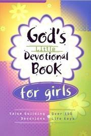 God's Little Devotional Book for Girls PDF