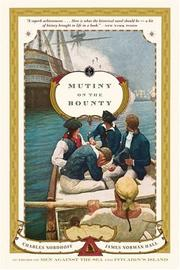 Mutiny on the Bounty by Nordhoff, Charles