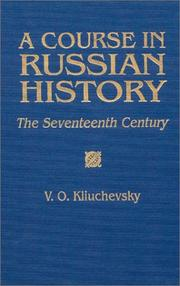 Kurs russko istorii by V. O. Kliuchevski