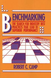 Benchmarking by Robert C. Camp