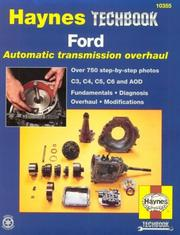 The Haynes Ford automatic transmission overhaul manual by John Harold Haynes