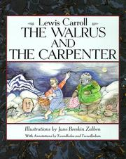 Cover of: The walrus and the carpenter by Lewis Carroll