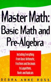 Master math by Debra Ross
