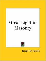 Great Light in Masonry