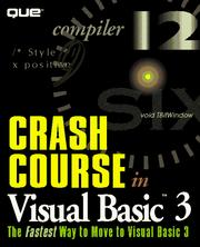 Crash course in Visual Basic 3 PDF