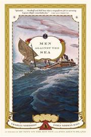 Men against the sea by Nordhoff, Charles