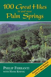100 great hikes in and near Palm Springs by Philip Ferranti