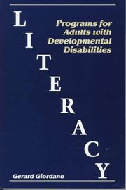 Literacy programs for adults with developmental disabilities PDF