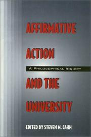 Affirmative Action and the University PDF