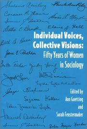 Individual Voices, Collective Visions PDF