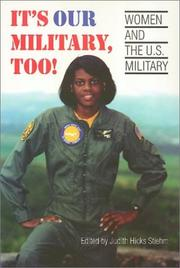 It's Our Military, Too! PDF