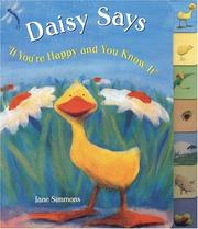Daisy says If you're happy and you know it by Jane Simmons