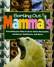 Mammals (Sorting Out) (Sorting Out) PDF
