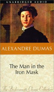 Cover of: The Man in the Iron Mask (Bookcassette(r) Edition) by Alexandre Dumas