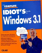 The complete idiot's guide to Windows PDF