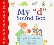 "Cover of: My ""d"" sound box by Jane Belk Moncure"