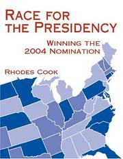 Cover of: Race for the Presidency by Rhodes Cook