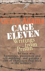 Cage Eleven by Gerry Adams