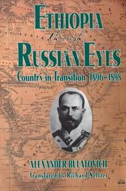 Ethiopia through Russian eyes by A. K. Bulatovich