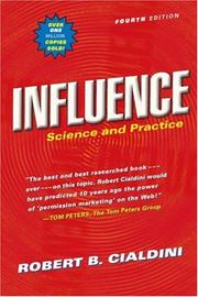 Influence by Robert B. Cialdini