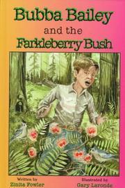 Bubba Bailey & the farkleberry bush PDF
