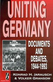 Uniting Germany PDF