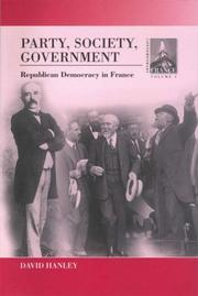 Party, Society, Government PDF