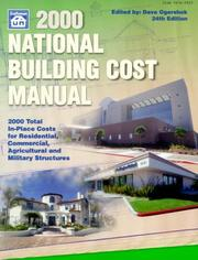 2000 National Building Cost Manual (National Building Cost Manual, 2000) PDF