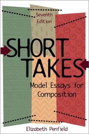 Short takes by Elizabeth Penfield
