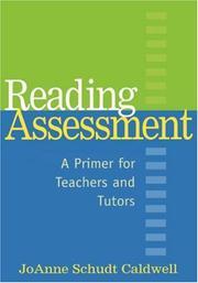 Reading assessment PDF