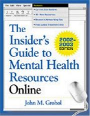 The Insider's Guide to Mental Health Resources Online PDF
