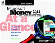 Microsoft Money 98 at a glance PDF