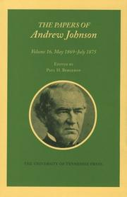 The Papers of Andrew Johnson by Andrew Johnson