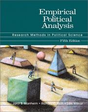 Empirical political analysis PDF