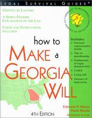 How to make a Georgia will PDF