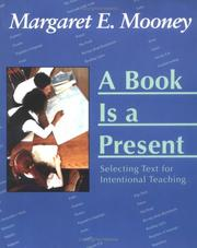 A Book Is a Present by Margaret E. Mooney