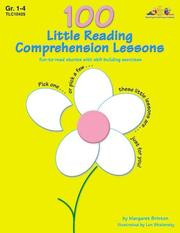 100 Little Reading Comprehension Lessons PDF